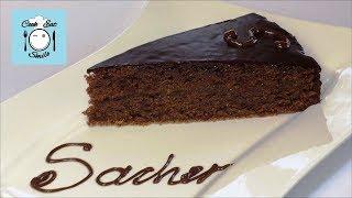 Шоколадный торт Захер (Sacher). Классический рецепт.