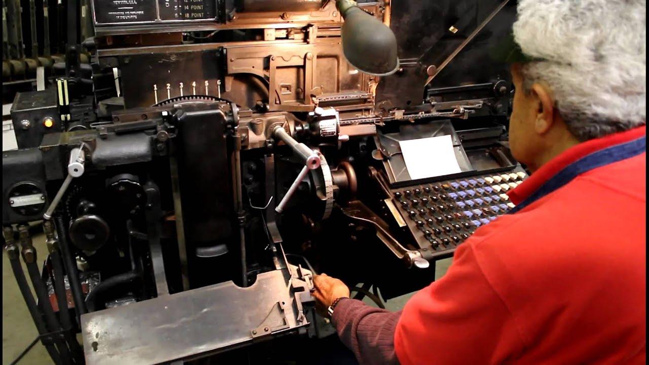 The Linotype Machine: Hot affair blows cold - MyCebu ph