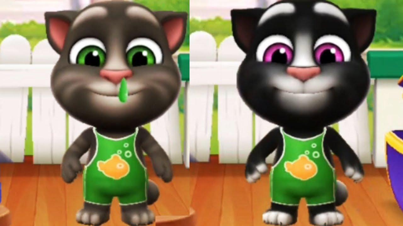 El Gato TOM.EXE VS El Gato TOM NOOB, Talking Tom 2 TRANSFORMACIÓN