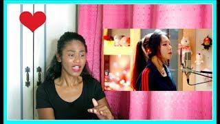 J.Fla - Ariana Grande   No Tears Left To Cry  (cover)   Reaction