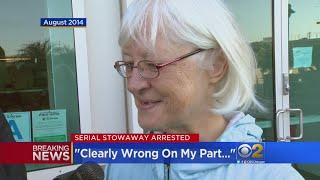 Serial Stowaway Marilyn Hartman Slips Past Security At O
