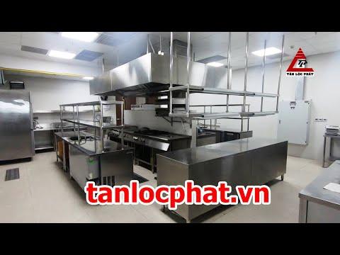 Tiêu chuẩn thiết kế bếp nhà hàng chuẩn mực nhất