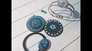 كيفية إنشاء Upcycle وإصلاح المجوهرات مع نوفو قطرات الكريستال