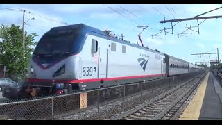 MUST SEE!!!Awesome Afternoon Railfanning mansfiled W/Amtrak OCS Train! 6.3.15
