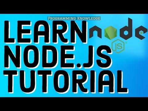 Node.js Tutorials   Node.js Crash Course   Learn Node.js - Full Tutorial For Beginners