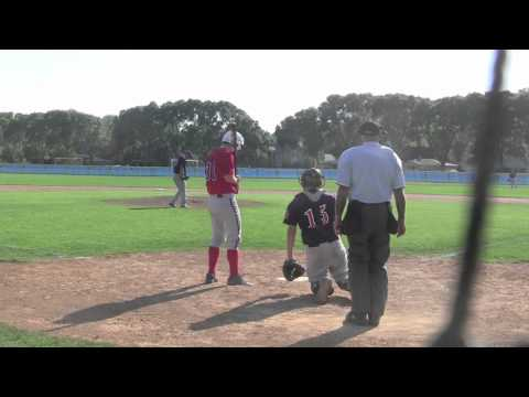 AMERICAN LEGION BASEBALL ELK GROVE RED SOX V NORTHBROOK BRAVES JULY 2012