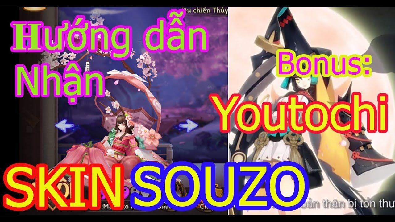 Hướng dẫn NHẬN SKIN sò SOUZU + Bonus SSR YOUTOUCHI SIÊU HOT | TEST CÔNG  THỨC VẼ SSR CŨ ĐÃ SHARE