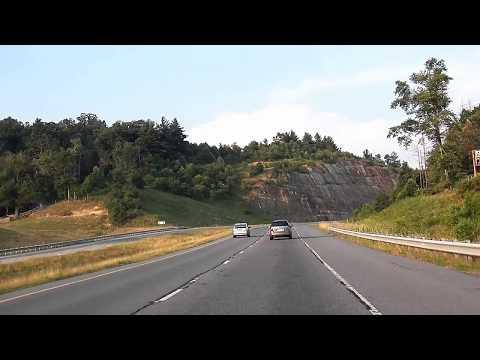 Highway 421 Road Footage Between Boone and Wilkesboro, NC