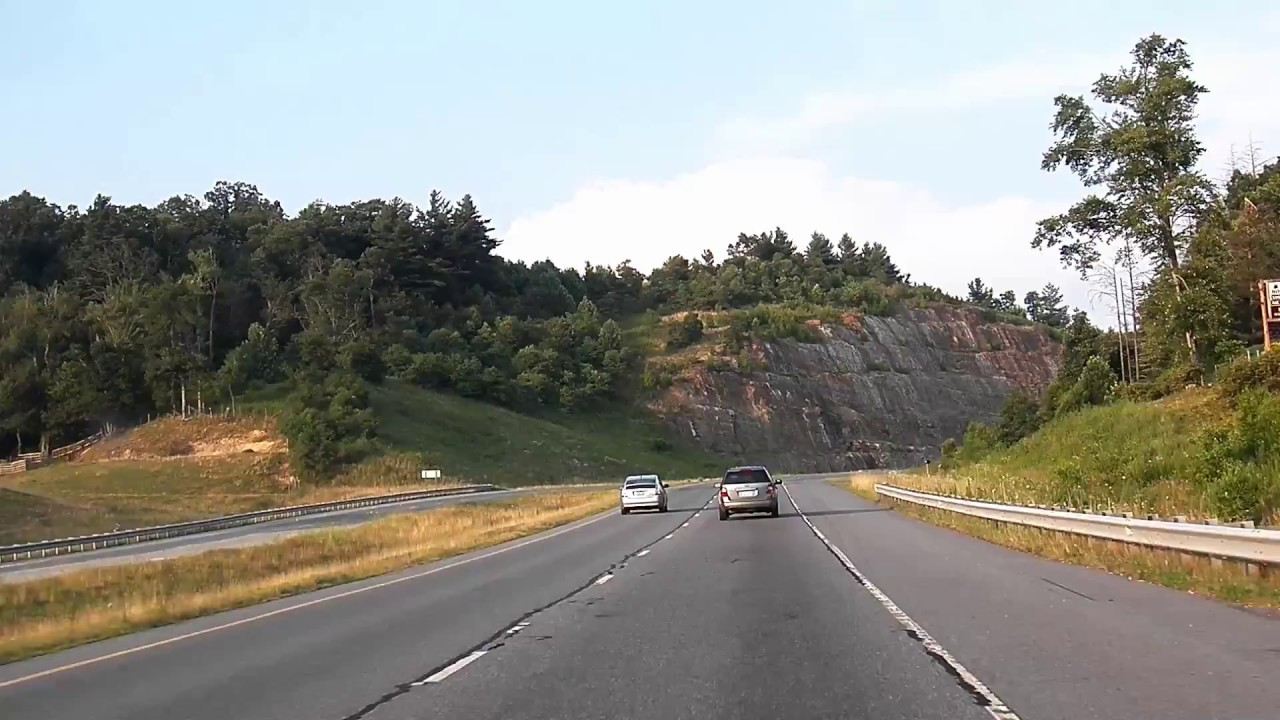 Hwy 421 Nc Map.Highway 421 Road Footage Between Boone And Wilkesboro Nc Youtube