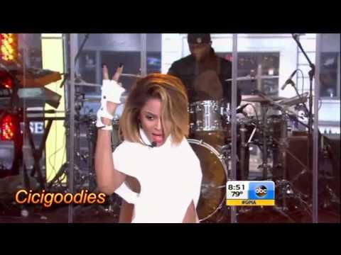 Ciara - I'm Out - Performs at Good Morning America