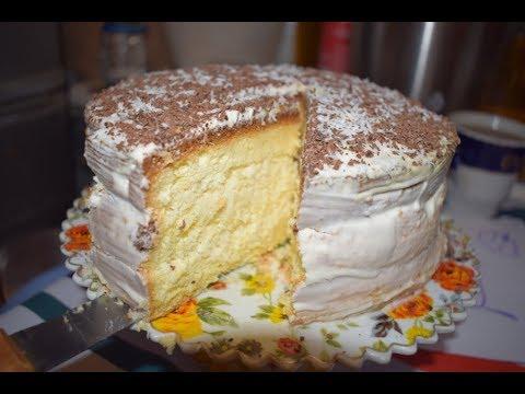 Кокосовый торт // Торт Баунти