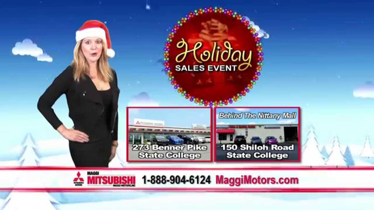 Maggi Mitsubishi - Holiday Sales Event - YouTube