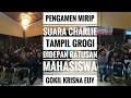 Pengamen Mirip Suara Charlie Tampil Grogi Didepan Ratusan Mahasiswa Gokil