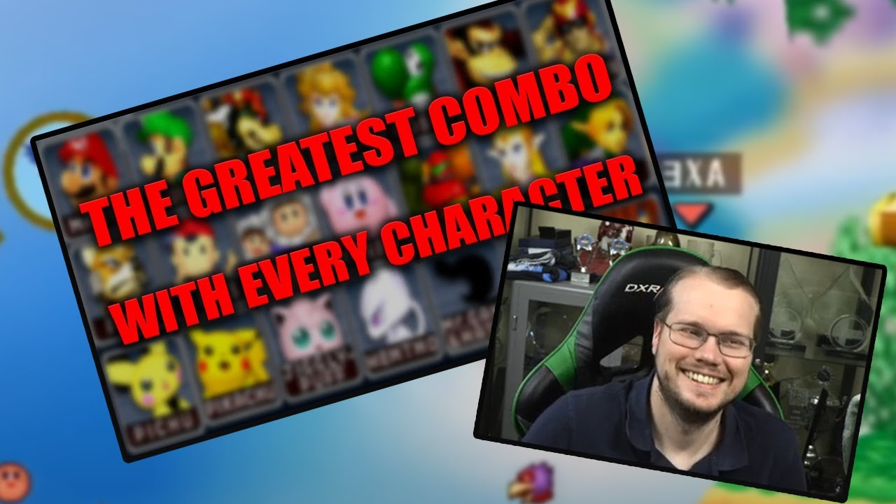 React to: The Greatest Combo With Every Character in Super Smash Bros Melee