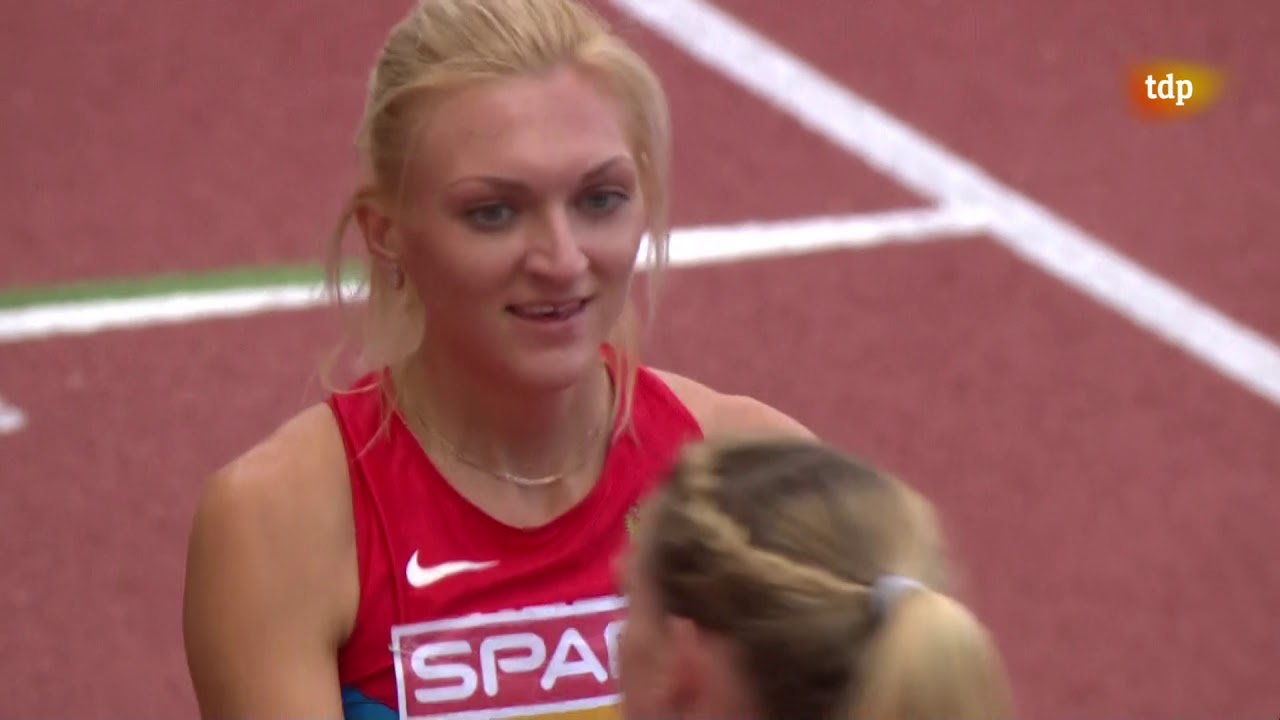 Women 400 Metres Hurdles FINAL 2014 European Athletics Championships Zurich TVE