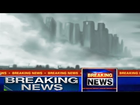 City In The Clouds Alien UFO Mysteries Filmed In The Sky Over Foshan China.