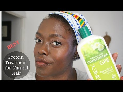 Best Protein Treatment for Natural Hair - Aubrey Organics GBP Balancing Protein Conditioner Review