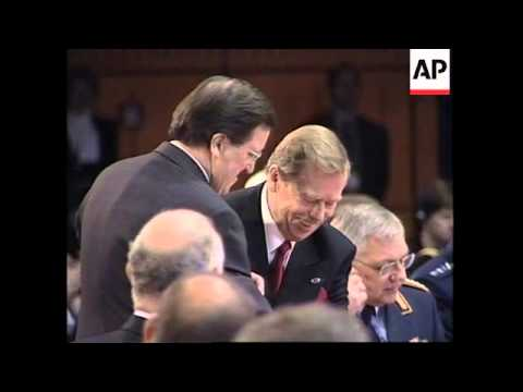 NATO summit opening session