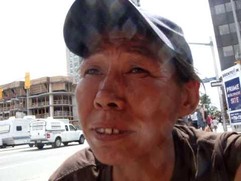 Homeless in Ottawa: Annie