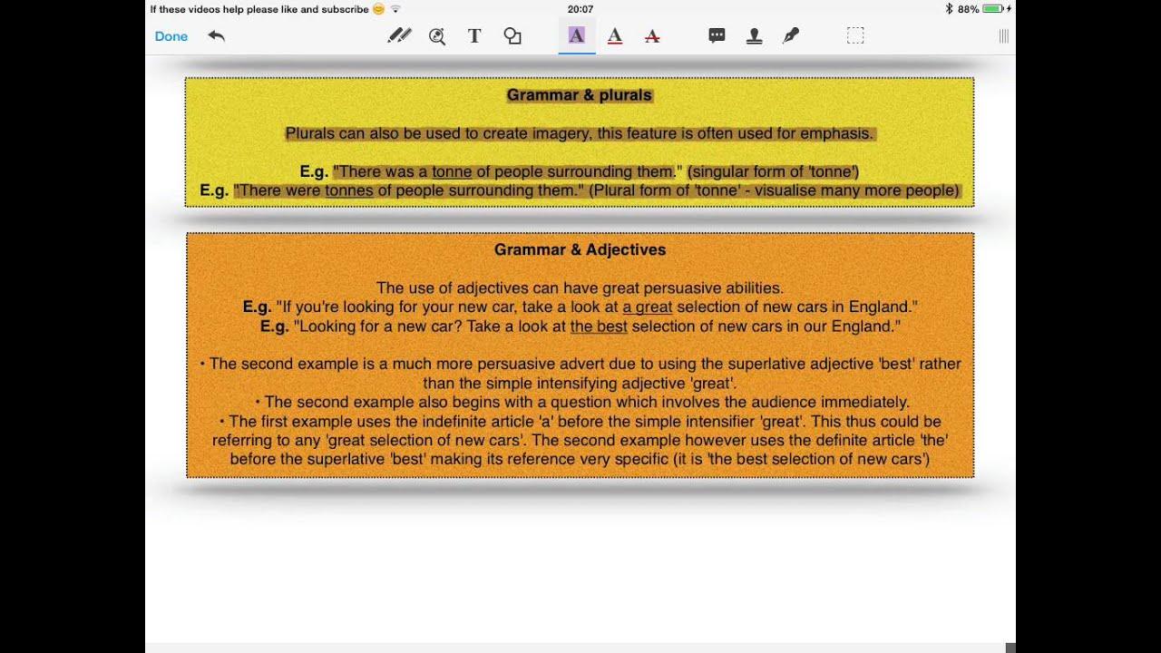 AS & A2 A-level English Language - Language Frameworks ...