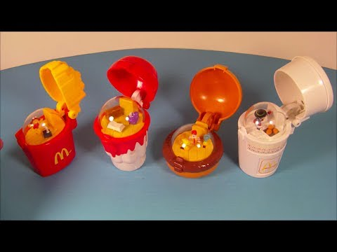 Mcdonald S Mini Happy Meal Complete Toy Food Maker