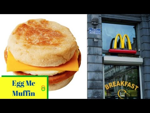 How To Make Egg Mcmuffin Mcdonalds Style English Muffin Sandwich For Kids Breakfast And For You Youtube