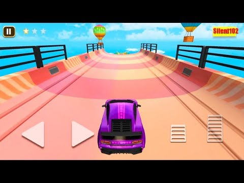 Mega Ramp Amazing Purple Sport Car Tracks, Stunts & Racing Game #9 - By Silent102 Gamedy
