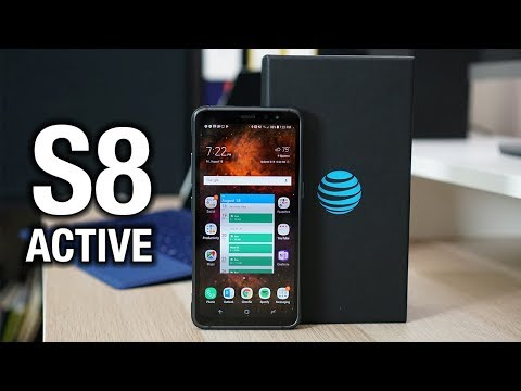 Samsung Galaxy S8 Active is here! Finally a decent box