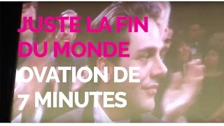 Xavier Dolan et Juste La Fin Du Monde À Cannes : La réaction de la salle