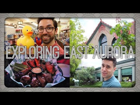 Exploring East Aurora, NY | Billy & Pat