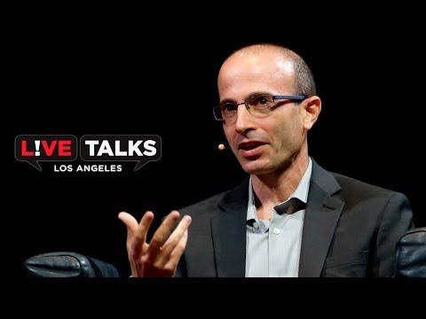 Yuval Noah Harari in conversation with Terrence McNally at Live Talks Los Angeles