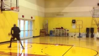 Ray Allen uses NOAH at Heat Practice