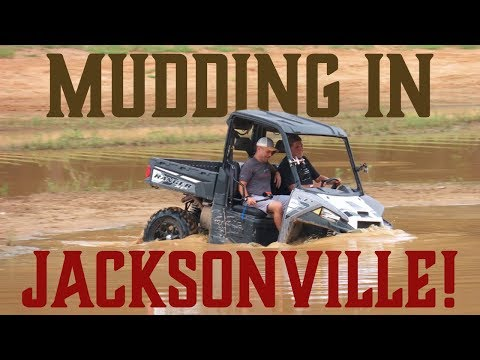 We Went MUDDING in Jacksonville, TX!