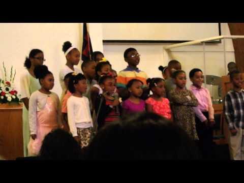Childrens Choir at St. John AME Church