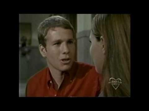 Peyton Place  Ryan O'Neal and Leigh TaylorYoung kiss