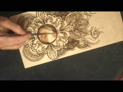 Mehndi Art, Clocks, by Bajidoo - YouTube