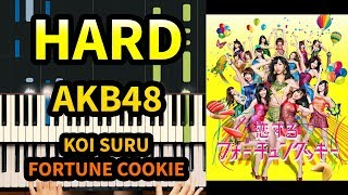 KOI SURU FORTUNE COOKIE EPIC Piano Cover ! - AKB48 Groups (Best Japanese Idol Music)
