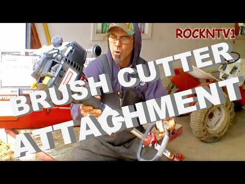Craftsman 32cc WeedWacker Trimmer Brush Cutter UnBoxing Review