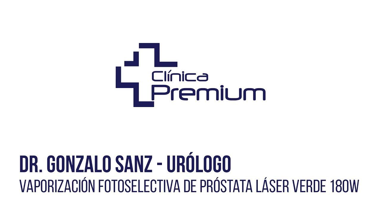 luz verde para cirugía con láser de próstata