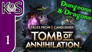 Tales from Candlekeep Ep 1: D&D  ON YOUR DESKTOP! - Dungeons & Dragons - Let's Play, Gameplay