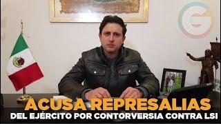 Alcalde acusa represalias de la SEDENA por controversia contra Ley de Seguridad Interior #Puebla