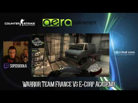 [8eme de Finale] Warrior Team France Vs E-Corp Academy - Speedcup AeraTournament 16#10