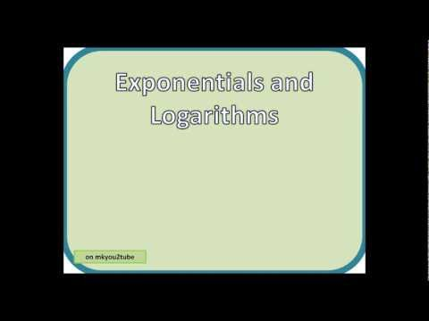 C3 Exponentials and Logarithms