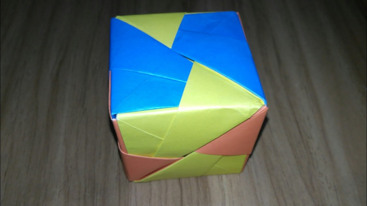 How To Make A Paper Puzzle Box Youtube
