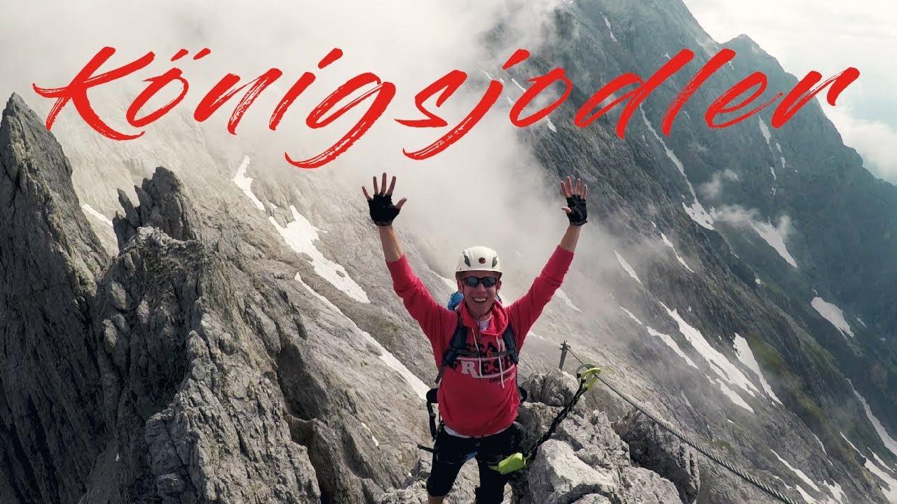 Klettersteig Königsjodler : Königsjodler klettersteig hochkönig via ferrata extrem gopro 2.7k