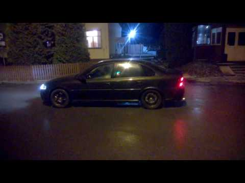 Vectra B RWD 2.0T Burnout