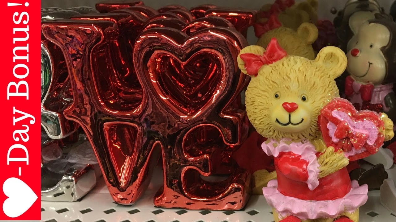 Dollar Tree Walk Thru Haul 39 Valentine S Day Bonus Video Youtube