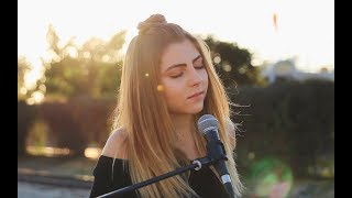 Download Without Me by Halsey | acoustic cover by Jada Facer