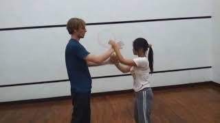 Women's Wing Chun Chi Sao Practice