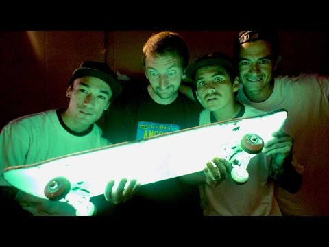 A GLOW IN THE DARK SKATEBOARD! | STUPID SKATE EP 75